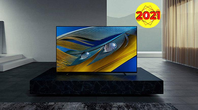 Tivi Sony OLED 2021 Android 4K Ultra HDR XR-55A80J